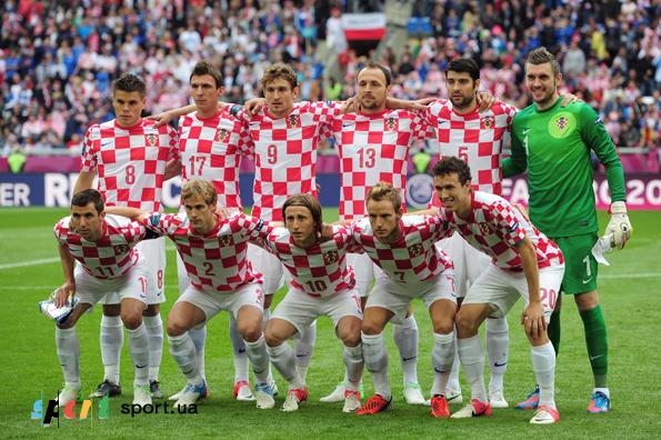 Сборная Хорватии по футболу, заявочный состав.