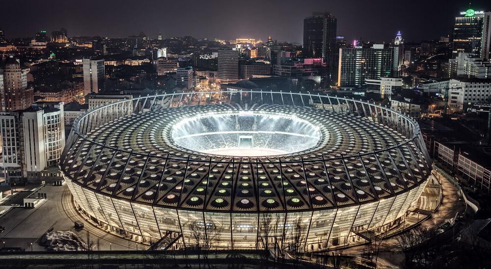 Украинские стадионы Чемпионата Европы 2012